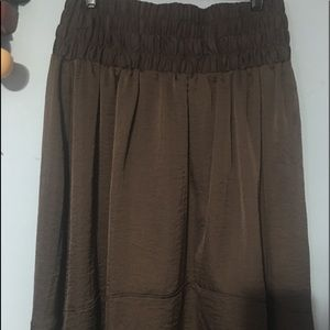 Beautiful Lane Bryant CB High Low Skirt 14/16